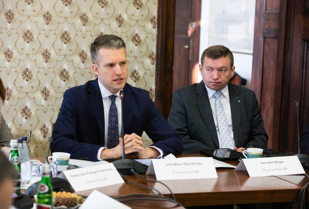 Pierwsze posiedzenie Zachodniopomorskiego Zespołu Parlamentarnego